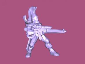dire avenger free 3d model - download stl file Toys Games combat race warhammer 40k stl file