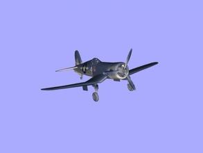f4u corsair libre modelo 3d - descargar archivo obj Los juguetes Juegos el mundial de combate aviones de combate archivo obj