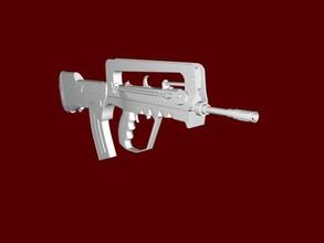 famas libre modelo 3d - descargar archivo stl Los juguetes Juegos armas de counter strike archivo stl