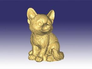 bahçe fox ücretsiz 3d model download stl dosyası Oyuncaklar Hayvanlar küçük tilki Heykeli dosya stl