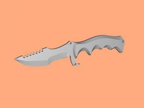 huntsman cuchillo libre modelo 3d - descargar archivo stl Los juguetes Arma huntsman cuchillo de counter strike global offensive archivo stl