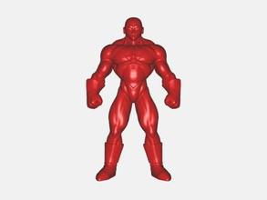 jiren free 3d model - download stl file Toys Cartoons muscular humanoid dragon ball stl file