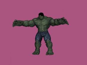 marvel hulk free 3d model - download obj file Toys Cartoons member avengers squad obj file