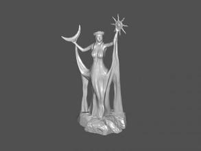santuario de azura libre modelo 3d - descargar archivo stl Los juguetes Juegos estatua de juego de skyrim archivo stl