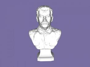 stalin gratuita modello 3d - scaricare il file stl Art La scultura busto rivoluzionario russo file stl