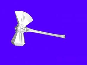 stormbreaker free 3d model - download stl file Toys Films avengers weapon stl file