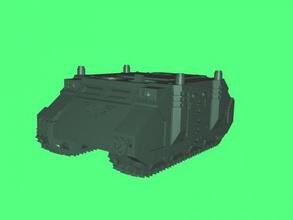 transport tank gelecek free 3d model download stl dosyası Oyuncaklar Makine araç sci-fi türü dosya stl