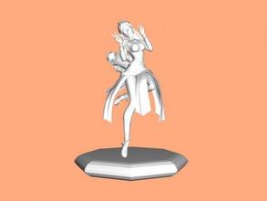 ying Heykeli free 3d model download stl dosyası Oyuncaklar Oyunlar neşeli karakter paladinler dosya stl