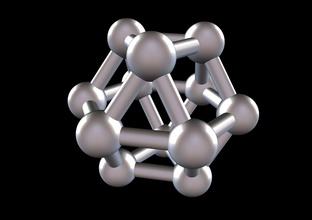 018 mathart - archimedean solids - cuboctahedron 03 - 10 cm science mathart archimedean solid cuboctahedron science math