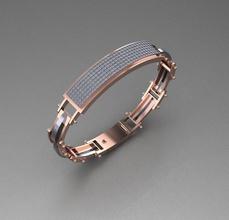 029 senhores pulseira hiphop joalheria moda pulseira vestem imprimível gema ouro cafajeste 3d senhores pulseiras