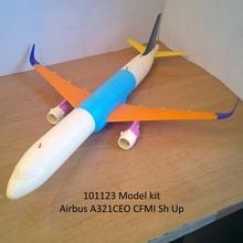 101123 airbus a321ceo cfmi sh airplane aircraft airbus a321 a320 jet boeing hobby diy hobby diy