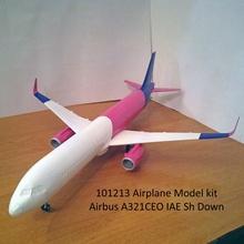 101213 airbus a321ceo iae sh airplane aircraft airbus a321 a320 jet boeing hobby diy hobby diy