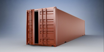 12 meter shipping container model kit games-toys container cargo 3dprint printready warehouse storage cargo container shipping logistic transport game accessories scale model model diaroma printable shipping container box shipment printable container toys games games toys game accessories
