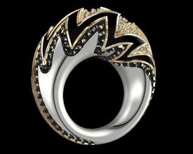 anillos tribale joyas oro luminoso altajoyeria diamantes joyeria gioielleria anelli