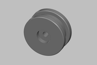 ariston tumble dryer pulley wheel reinforced spare spare parts replacement wheel pulley tumble dryer ariston hobby diy hobby diy mechanical parts mechanical parts