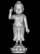 bebê Buda 3d modelo babybuddha buddasmall buddaboy Buda Buda buddhascult buddababy arte esculturas