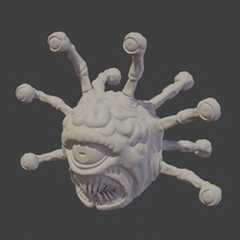 beholder sculpt beholder beholder beholder dungeonsanddragons dungeon monster creature miniature print dungeon monster creature miniature mini sculpt mini sculpt sculpture fantasy printable statue 3dprint games toys games toys game accessories game accessories