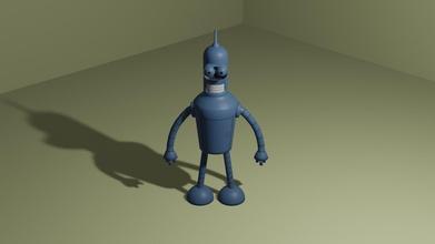 bender bender figura Android manichino statua scultura robot tipo arte Giochi giocattoli Giochi giocattoli miniature memi passatempo Fai passatempo Fai robotica