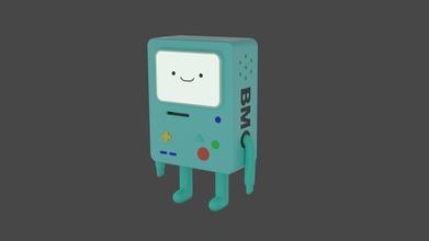 bmo adventure time 3d print adventuretime bmo toy figurine statuette cartoon games toys games toys