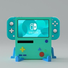 bmo stand nintendo switch lite bmo adventuretime nintendoswitch nintendoswitchlite lite stand base game gamer nintendo anime character video game toy 3dprint games toys games toys game accessories accessories