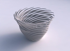 bowl twisted muscle structure very twisted tapered 2 house bowl  twisted muscle structure very twisted  tapered 2 house decor