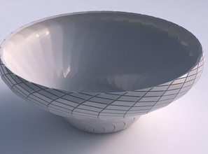 bowl wide twisted twisted diagonal grid plates house bowl wide  twisted  twisted diagonal grid plates house decor