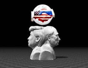 bust worlds greatest leaders america art bust free greatest leader medelis peace president putin russia sculpture trump usa  leaders vladimir donald hq sculptures