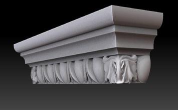 el capitel pilastra casa de la pared de mármol de la arquitectura art edificio ornamento la estatua decoración interior disain cnc 3dprinting casa