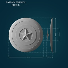 captain america shield captain america captainamerica cap merica shield lowpoly highpoly printable printready comic superhero hero marvel games toys games toys