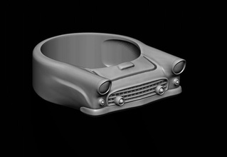 car ring 15 jewelry retro classic jewelry oldtimer famous 1957 presley antique vehicl vehicle sport style convertible roadster coupe hardtop oldschool cuba kuba vintage rings