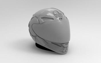 kasko gotik Valentino Rossi moto motos 46 vr46 Rossi Valentino Yamaha canavar Michelin kasko motosiklet motogp Dainese Eskültür devre Cascos Valentino rossi agv doktor hobi kendin yap hobi