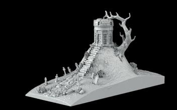 mezarlık kitap ayracı kitap kitap ayracı fdm korku ağaç ölümsüz pla ölüm ölü mezarlık mezarlık yaşayan mezar taşı senaryo mezar odası manzara önceden desteklenen Acheron kütüphane oyunlar oyuncaklar oyunlar oyuncaklar