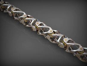 catena di collegamento 164 gioielli oro catena argento stampabile di lusso art le catene braccialetto bracciali la collana collane santayork babochka modello di fidanzamento matrimonio gioielli moda cerniera