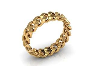 anello di catena gioielli amore matrimonio anello 3dring coppia di fidanzamento regalo argento oro 3dprint weddingring matrimonio speciale catena uomini boho di boemia elegante uomo gioielli anelli