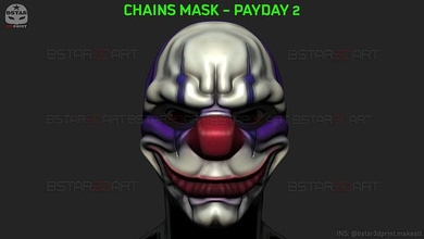chains mask - payday 2 mask - halloween cosplay mask hoxton mask chains mask chains mask payday2 chains mask cosplay chains mask pay day 2 pay day 2 mask chains payday2 chains mask halloween halloween mask horror mask scary mask halloween toys dallas mask stl dallas toys cosplay chains mask paypday 2 wolf mask payday2 pay day 2 games toys games toys