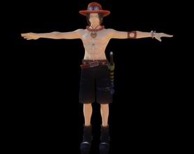 personnage as dessin animé as art dessin animé Jeux jouets homme pirate barbe blanche jouant corps tatoo luffy garçon Jeux jouets grandir