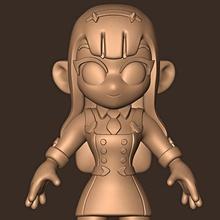 chibi chéri franxx art figure personnage stylisé statue sculptures