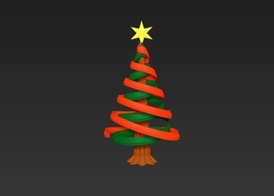 christmas tree simple rotatable assembly model christmas tree santa claus christmas tree pine pinewood winter wonderland toys mechanic christma ball snowman nature frosty season greeting holiday christianity merry games games toys