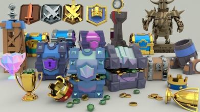 çatışma Royale paketlemek çatışma Royale klan göğüs minyatür eşya büyülü depolama koleksiyon hayran ikon kalite süper hücre video oyun video oyunları Oyna anahtarlık Aksesuarlar gadget'lar oyunlar oyuncaklar oyunlar
