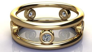 classico diamante gruppo musicale squillare reinventato oro nozze gioielleria classico stampabile diamante squillare platino gemma diamante gioiello gioielleria gruppo musicale squillare moda moderno contemporaneo tiffany moda bellezza anelli