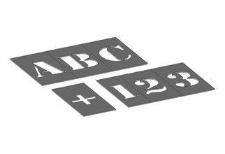 classic font spray painting stencil font stencil text letters numbers alphabet spray painting characters typo write writing abc typography symbol hobby diy hobby diy  labelling