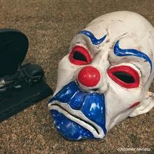 clown mask dark knight cosplay halloween stl file games-toys clown mask joker clown mask stl file joker dark knight mask halloween mask model halloween mask clown print model clown mask 3d print batman cosplay mask costume mask 3d print mask games toys games toys