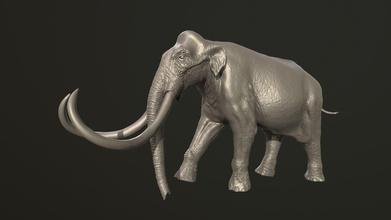columbian mammoth mammoth elephant sculpture animal extinct art sculptures