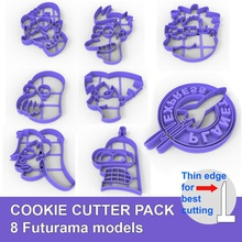 futurama cookie cutter