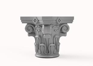 capiteles de estilo corintio alto nivel de detalle escultura art tradicional diseño decoración clásico las capitales la estatua deco pilar el componente del edificio de corinto ornamento el capitel griego moldeo el diseño de interiores en la arquitectura romano las esculturas