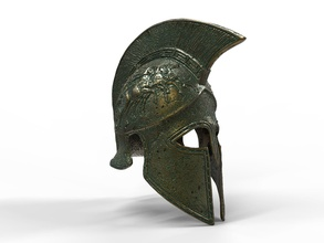 corinthian helmet art armor ancient  helm statue sculpture amored antique warrior sculptures