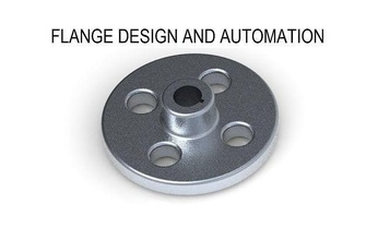 creo flange design automation creo solidworks autocad catia parametric 3d design technology engineering mechanical industrial product prototype automation cad student academy education automotive science