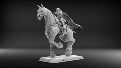 darksiders 3 contenda cavalo a arte estátua escultura darksiders 3 a contenda o cavalo esculturas
