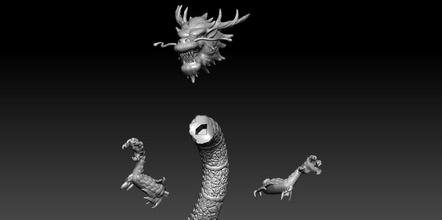 delete shyriu saint seiya chevaliers zodiaque zodiac print art sculptures