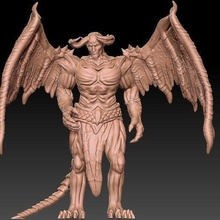 demon nude anatomy art ancient sculpture sculpture figure brawny traditional carve man science science body statue deco monument games toys games toys game accessories game accessories